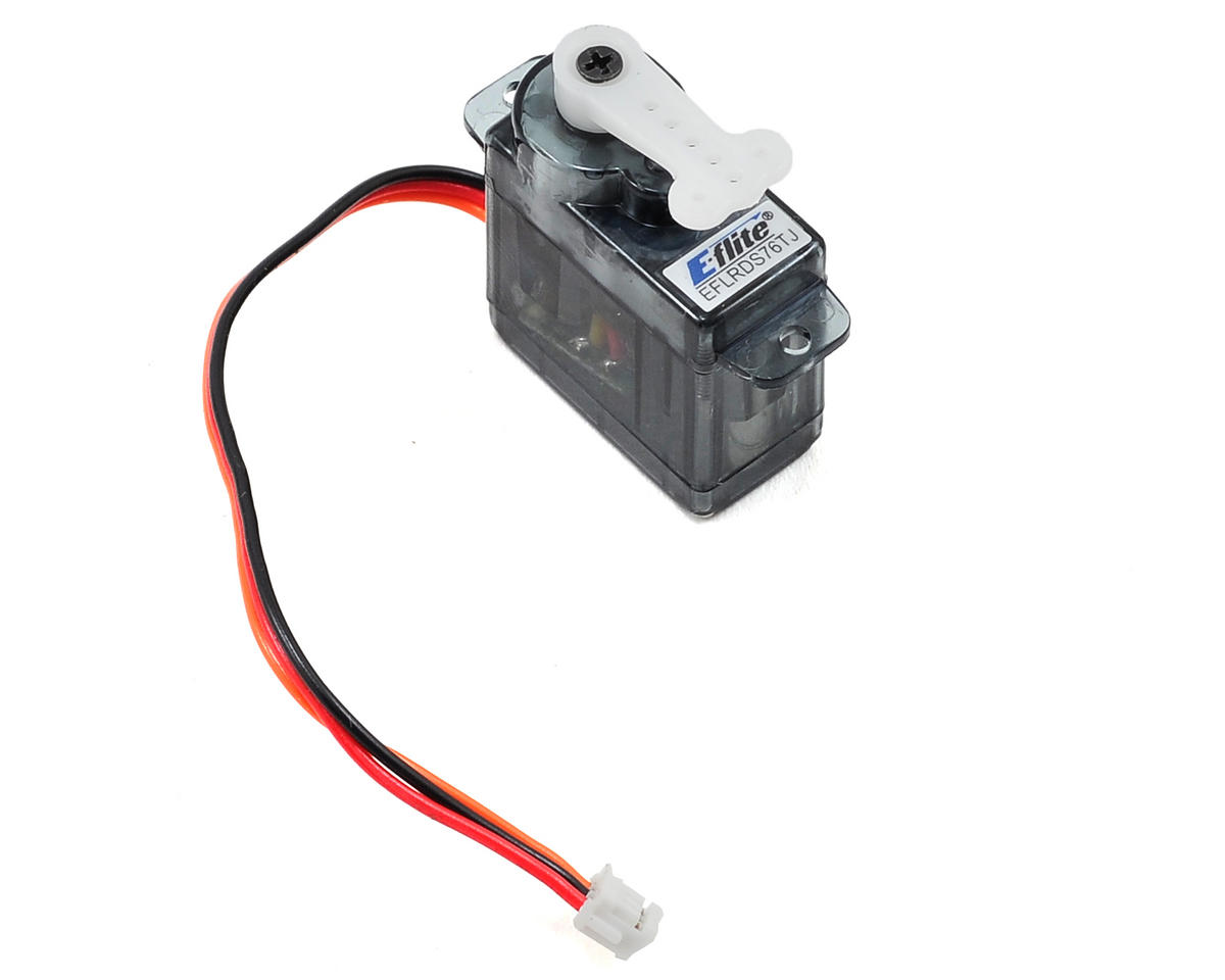 7.6-Gram Sub-Micro Digital Tail Servo w/JST by E-flite