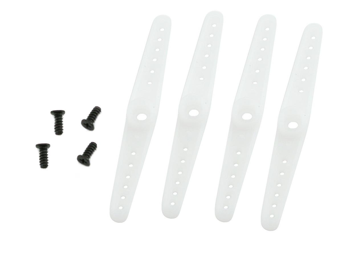 E-flite 3D Servo Arm Set w/Screws (S75/HS-55) (4) | relatedproducts