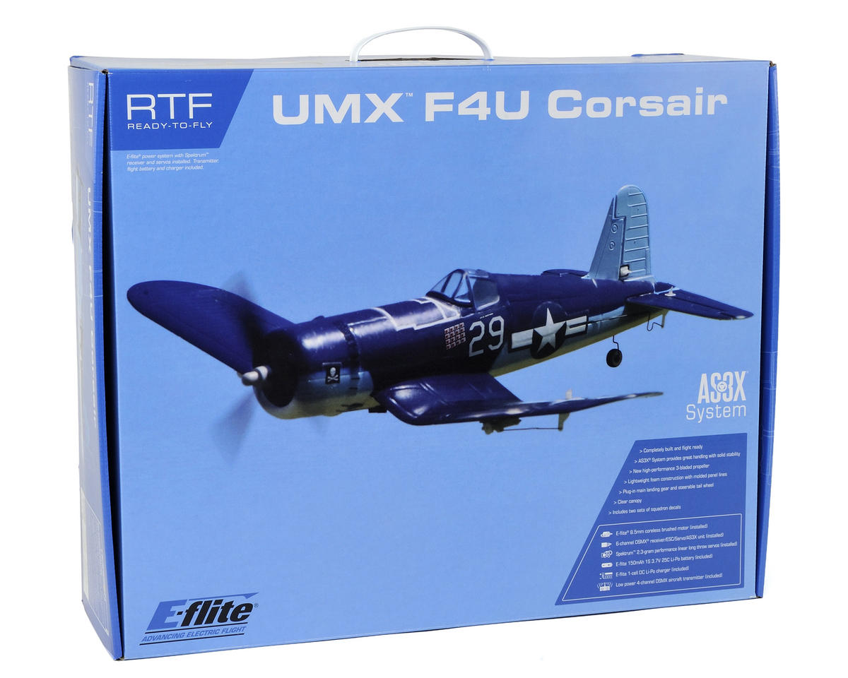 E-flite Ultra-Micro UMX F4U Corsair RTF Electric Airplane
