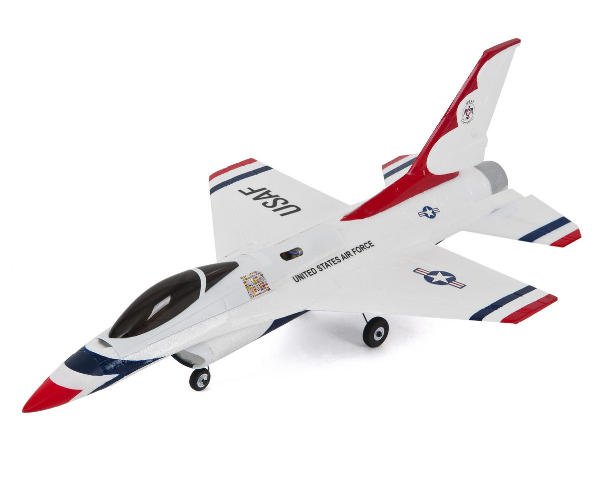 Ultra-Micro UMX F-16 Bind-N-Fly Electric Ducted Fan Jet Airplane by E-flite