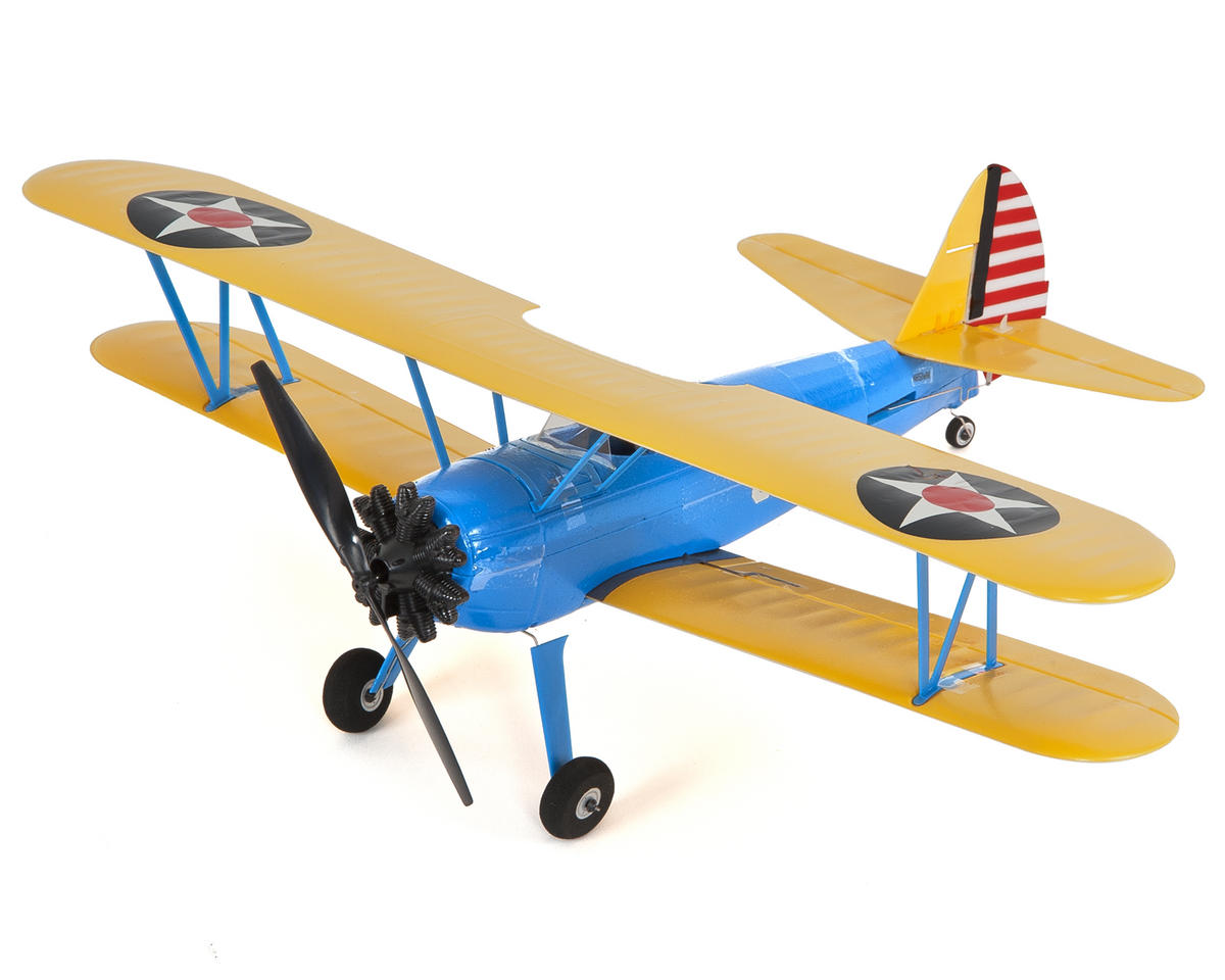 UMX PT-17 Bind-N-Fly Electric Airplane by E-flite