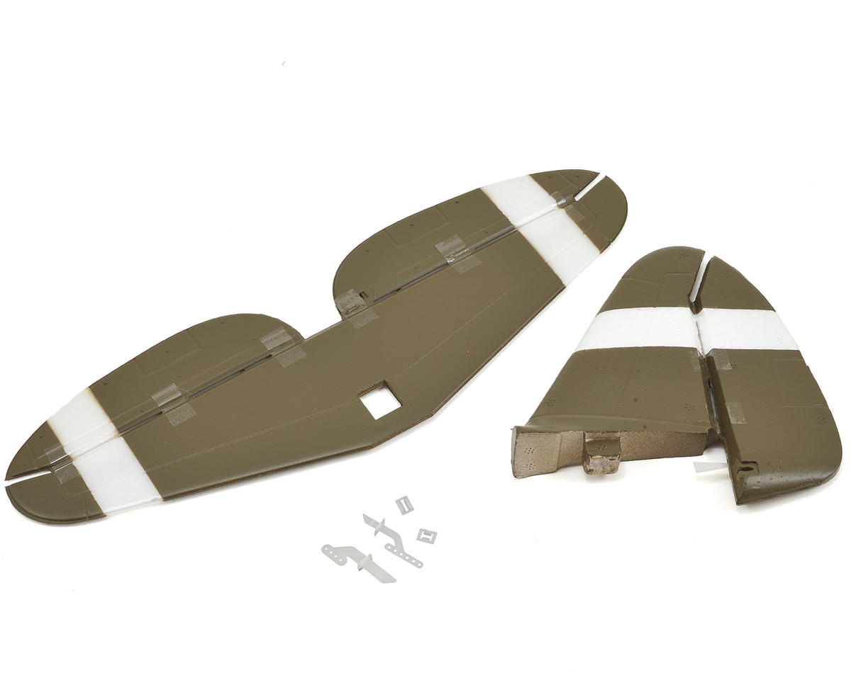 E-flite UMX P-47 Tail Set w/Accessories