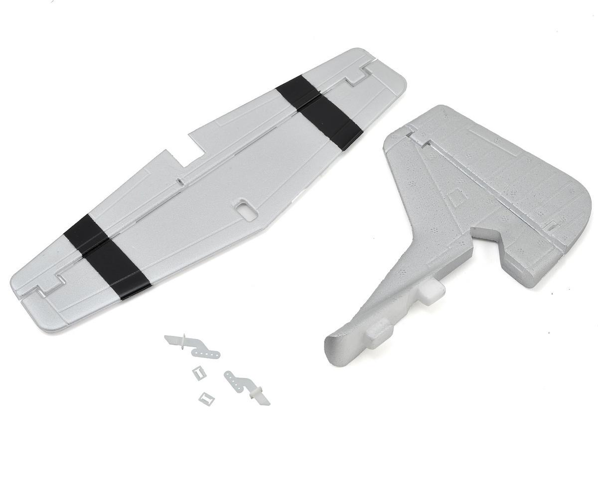 E-flite UMX P-51 BL Tail Set