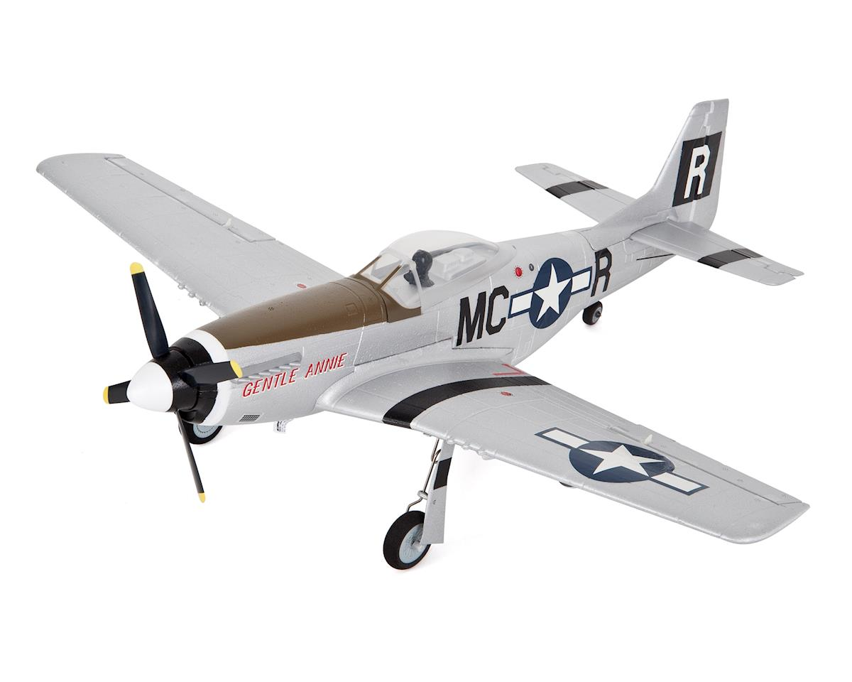 E-flite UMX P-51 BL Ultra-Micro Bind-N-Fly Electric Airplane