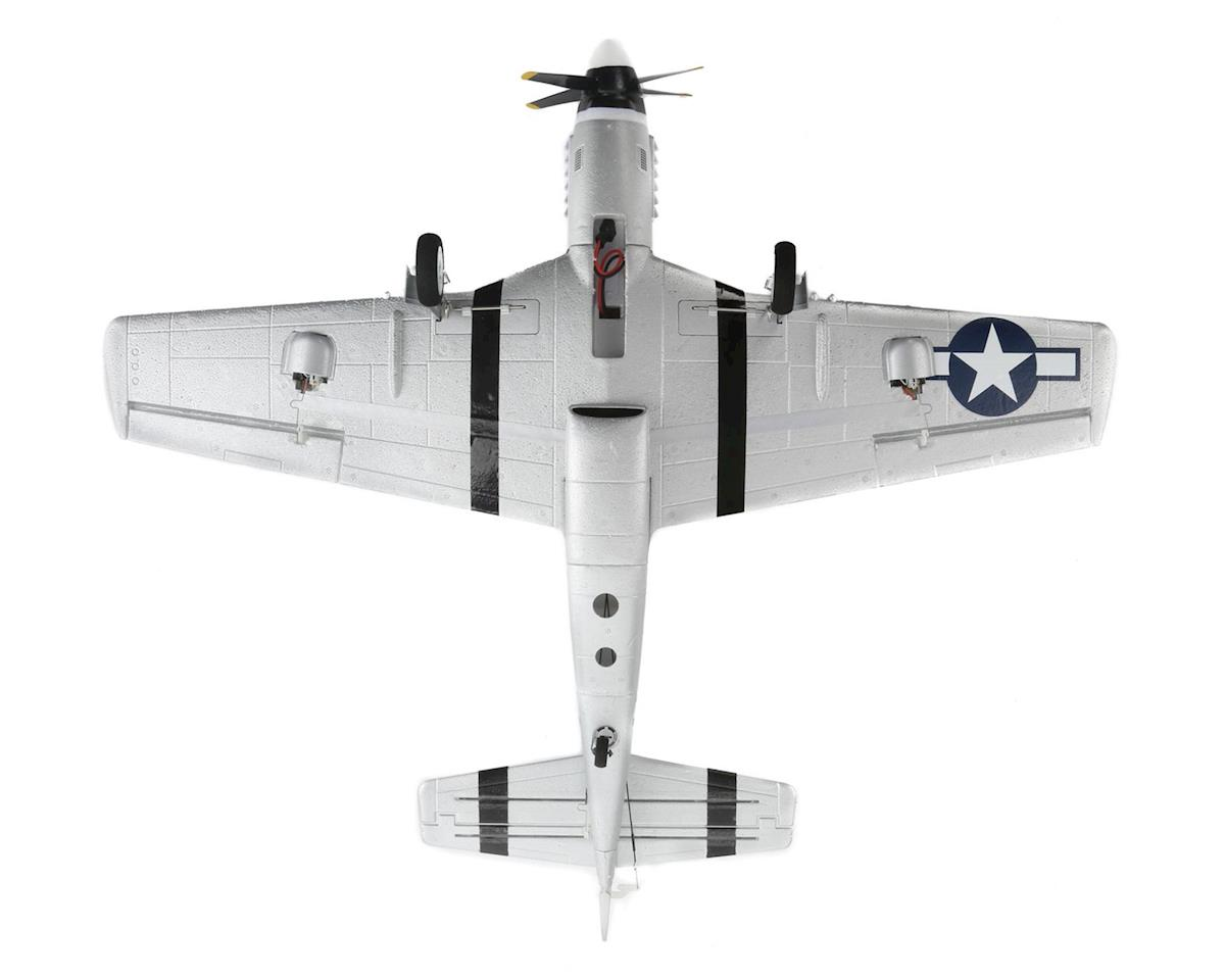 E-flite UMX P-51 BL Ultra-Micro BNF Electric Airplane (493mm)