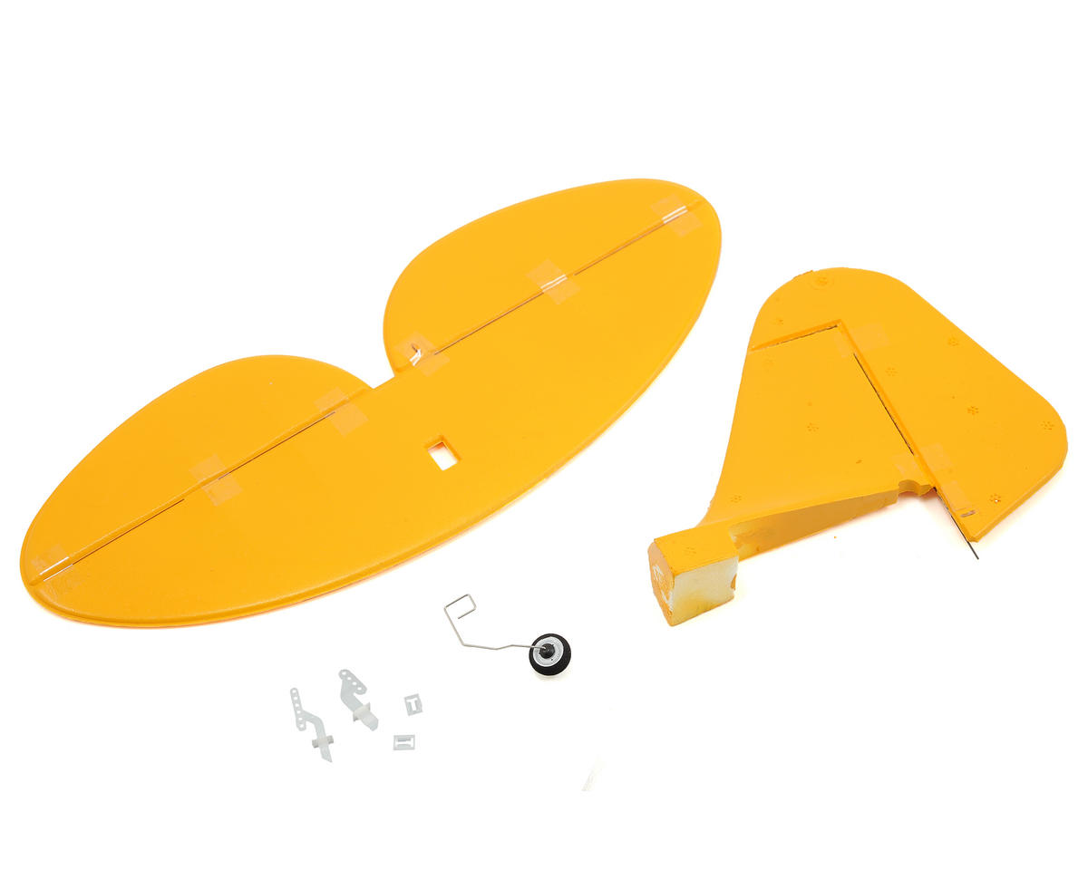 E-flite UMX J-3 Cub BL Complete Tail | relatedproducts