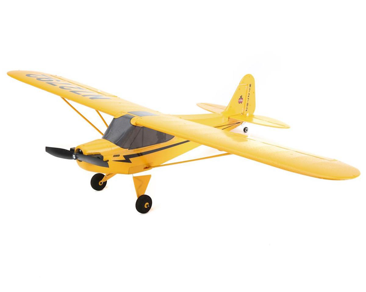 Ultra-Micro UMX J-3 Cub BL BNF Electric Airplane (670mm) by E-flite
