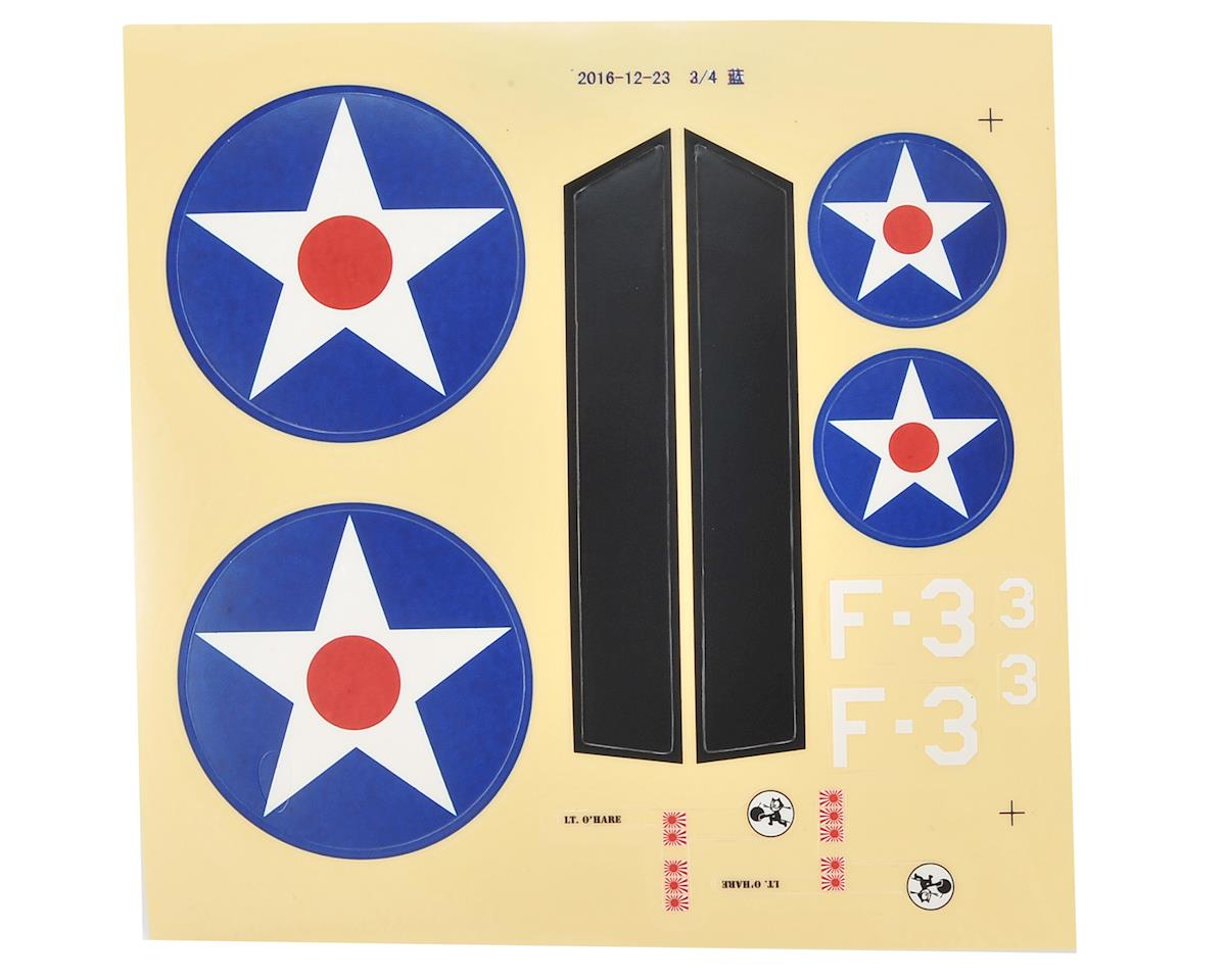 E-flite UMX F4F Wildcat Decal Sheet