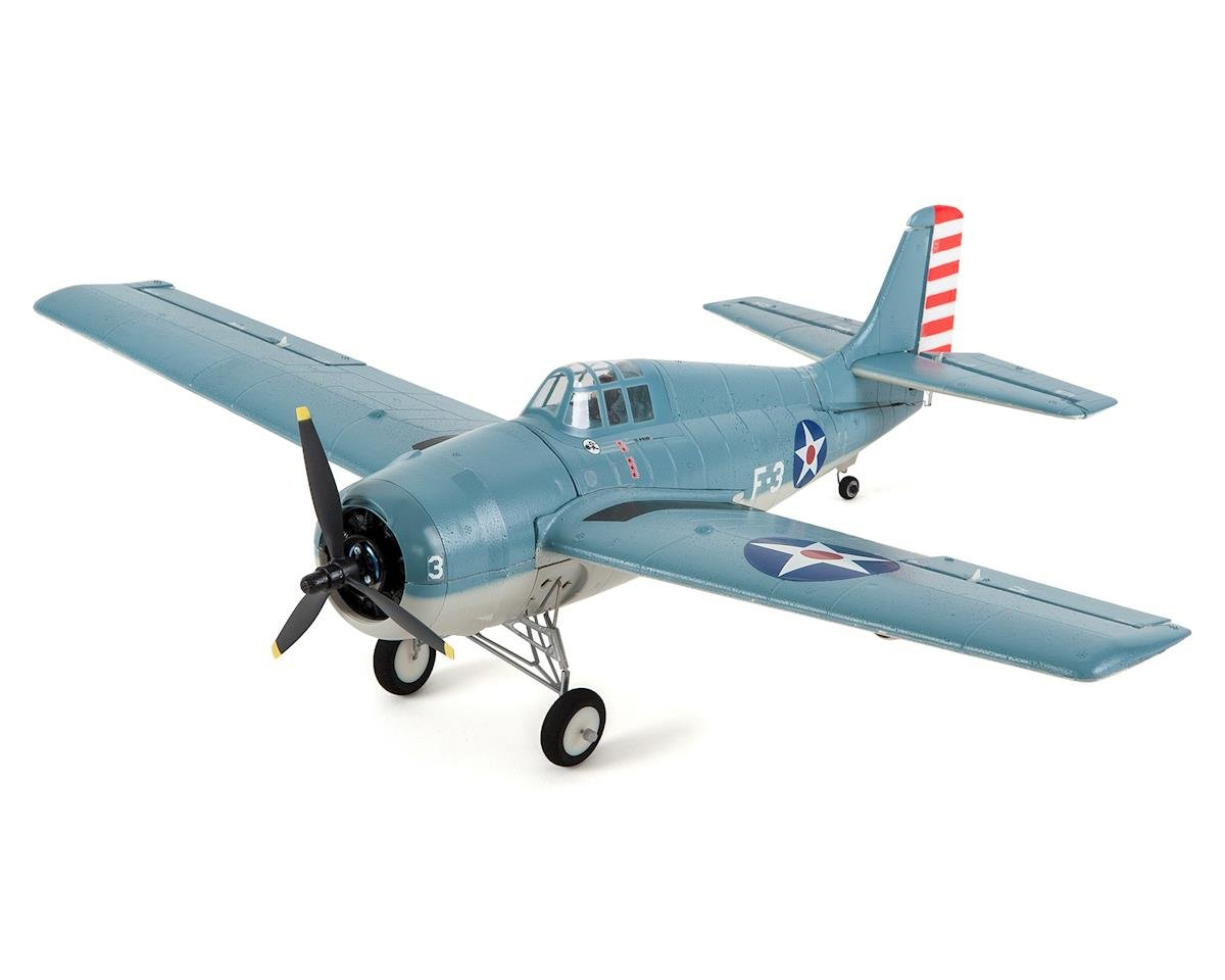 Ultra-Micro UMX F4F Wildcat BNF Electric Airplane (515mm) by E-flite