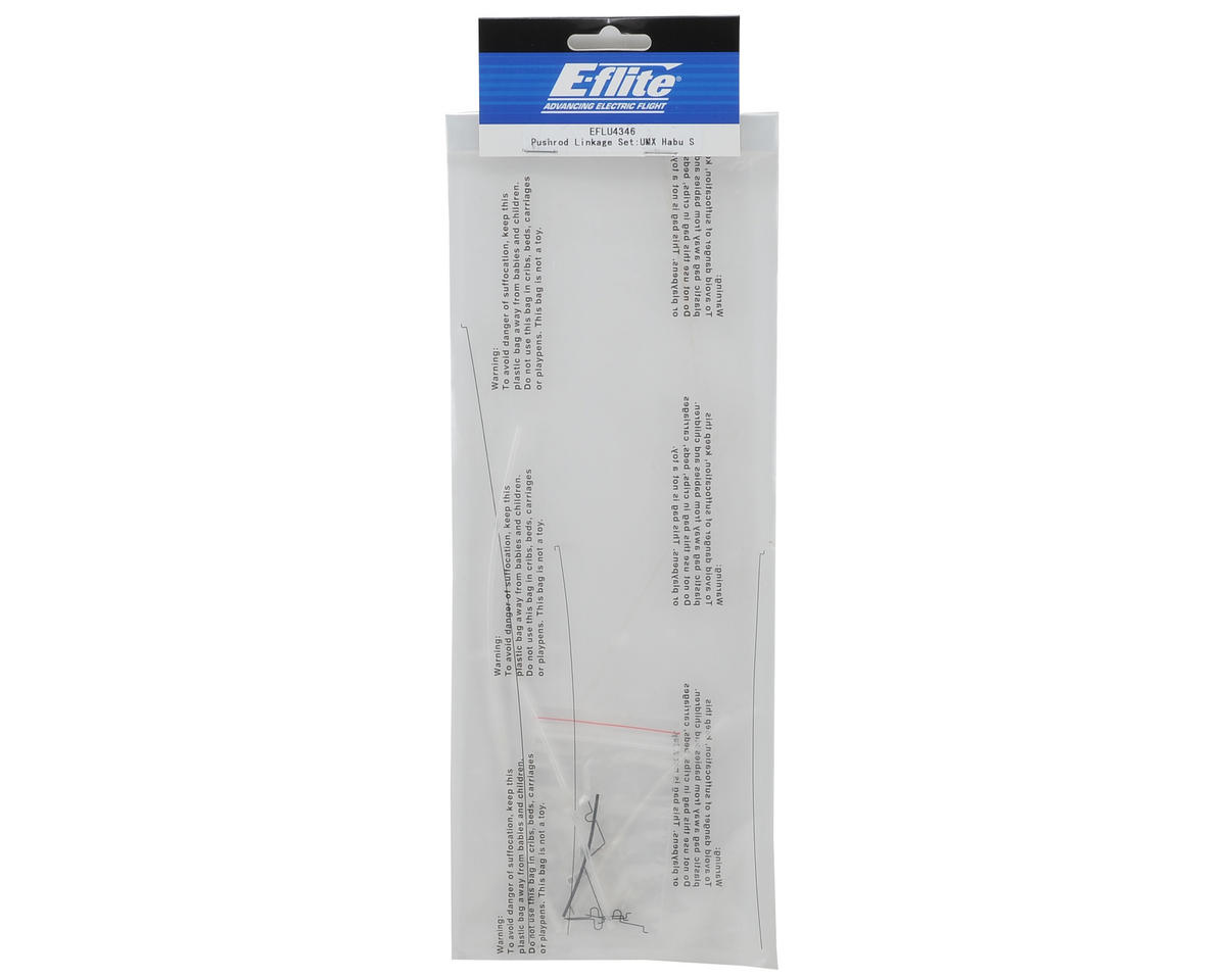 E-flite Pushrod Linkage Set
