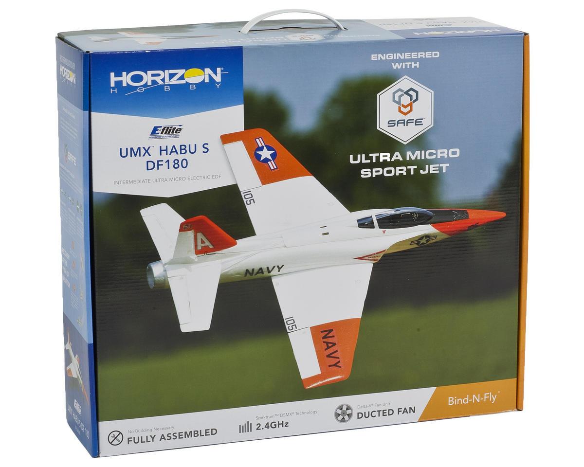 Ultra-Micro UMX Habu S DF180 Bind-N-Fly Airplane by E-flite