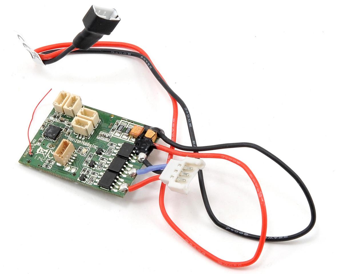 E Flite Dsm 6 Channel Um As3x Brushless Esc Receiver Combo