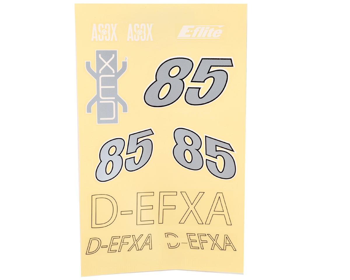 UMX Sbach 3D Decal Set by E-flite