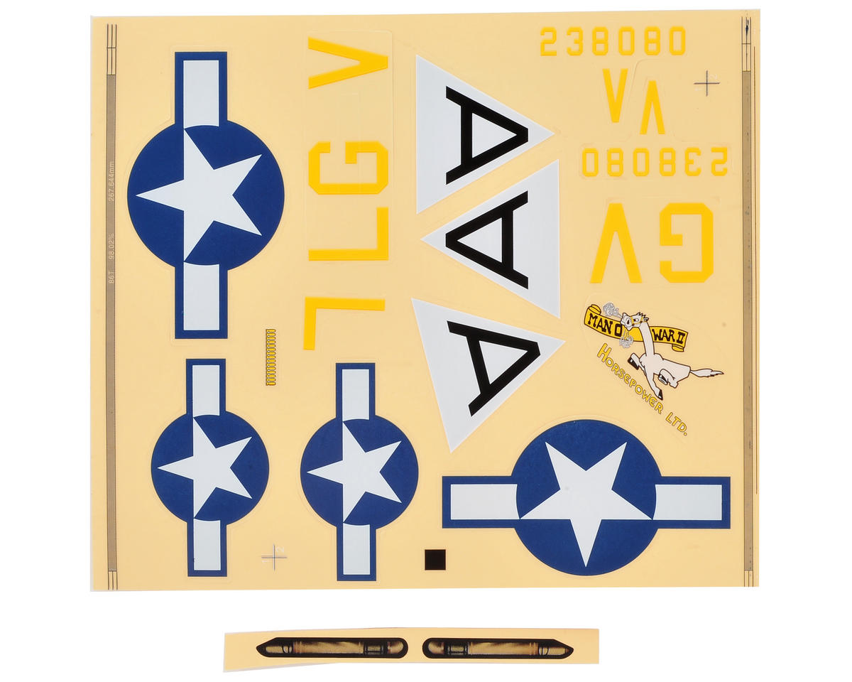 E-flite UMX B-17G Decal Sheet