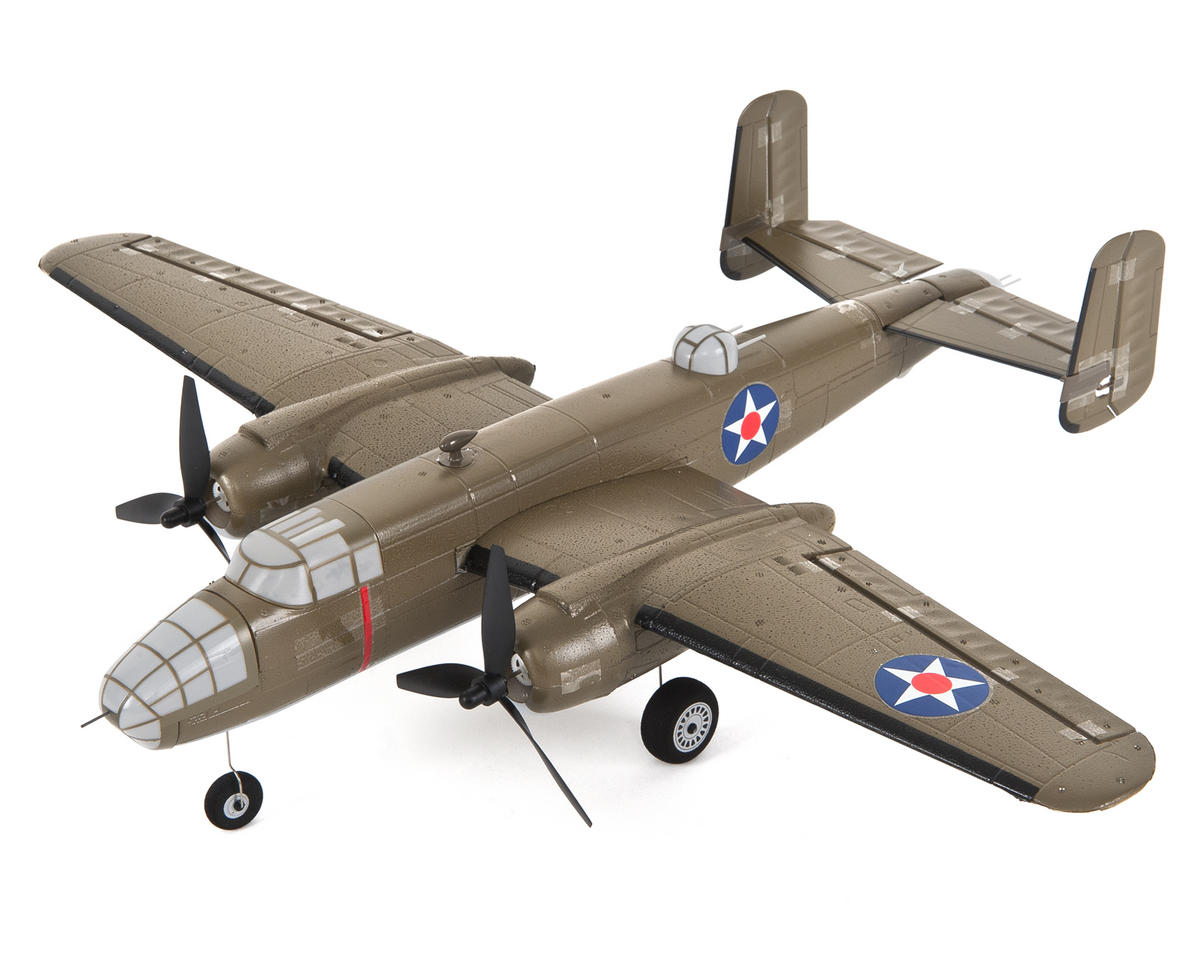 E-flite UMX B-25 Mitchell BNF Electric Airplane (550mm)