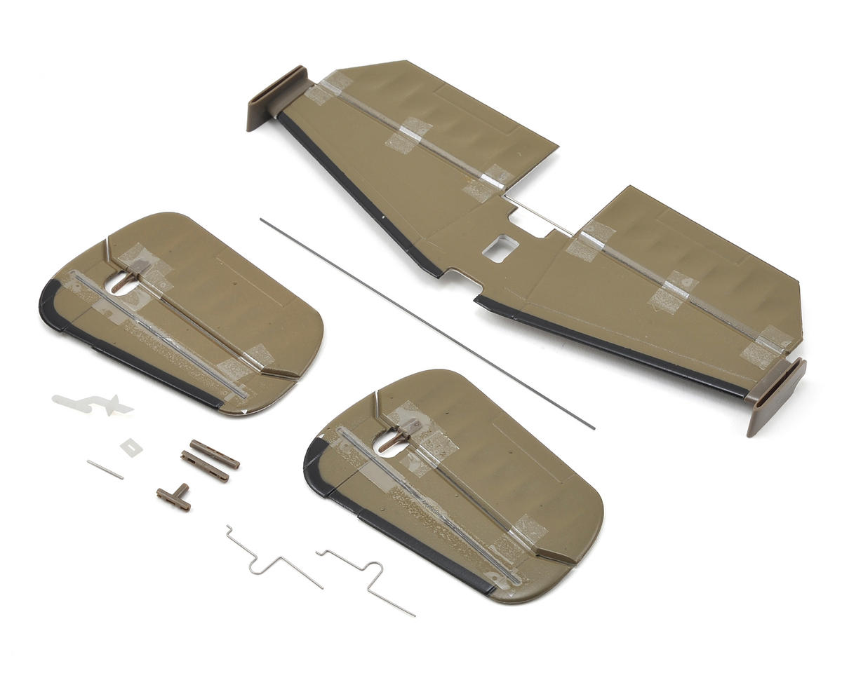 E-flite UMX B-25 Tail Set | relatedproducts