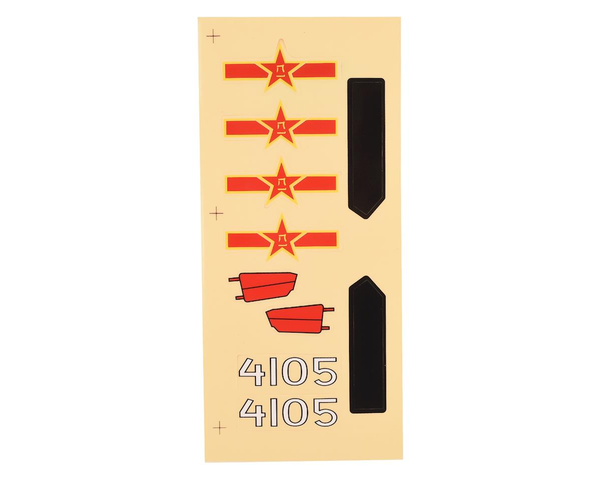 E-flite UMX MiG 15 EDF Decal Sheet