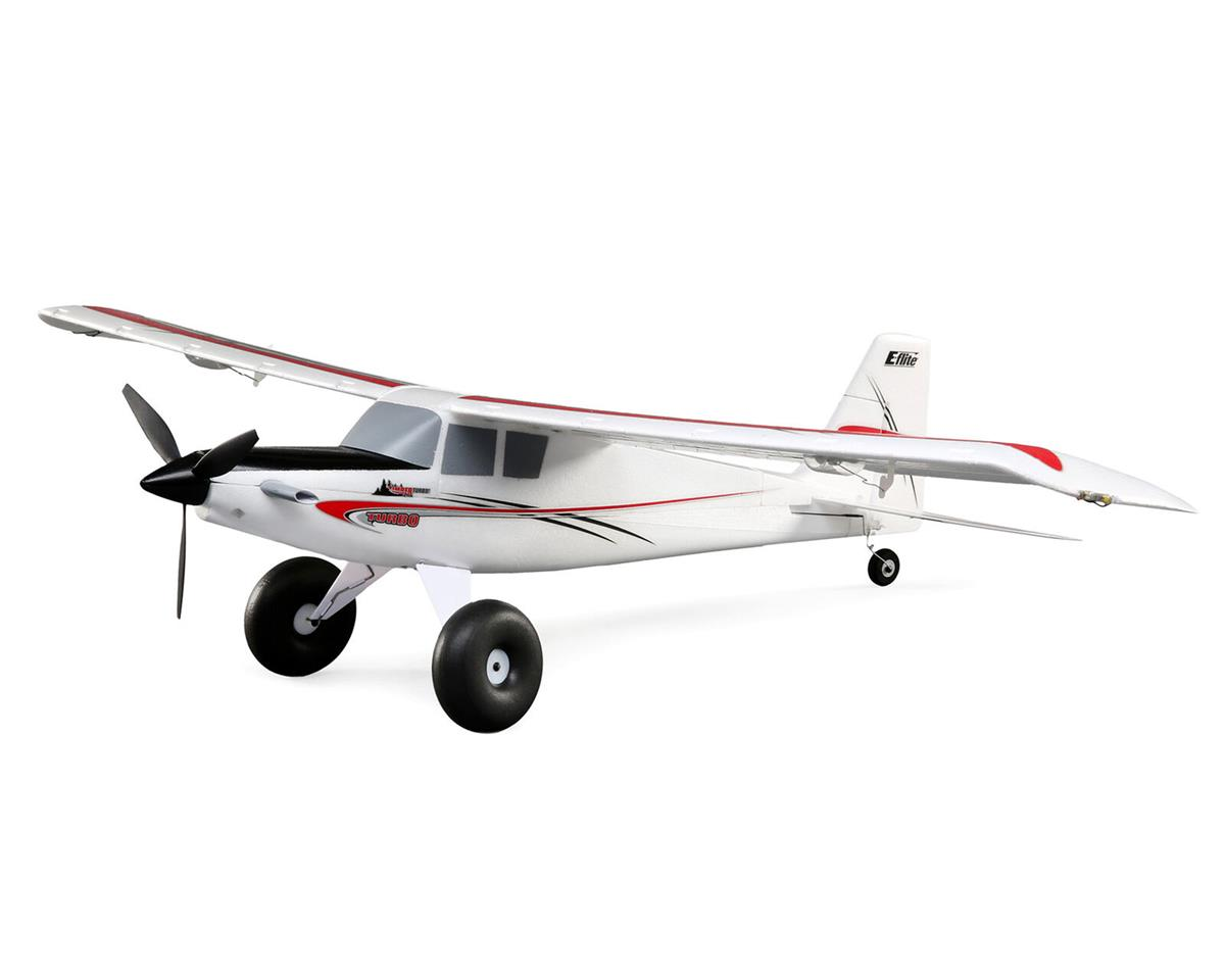 E-flite UMX Turbo Timber BNF Basic Electric Airplane (700mm)