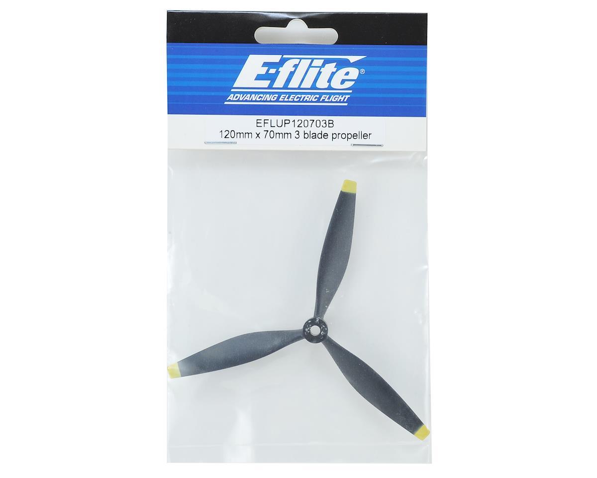 E-flite 120mm x 70mm 3 Blade Propeller