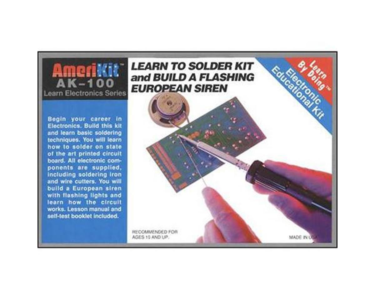 Elenco Electronics  Learn To Solder Kit
