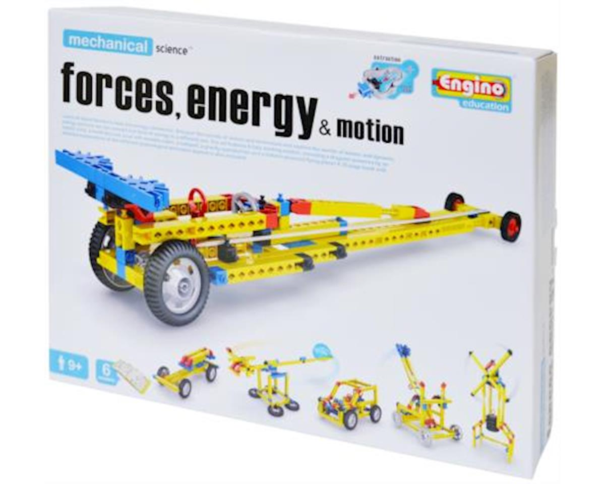 Elenco Electronics Engino ENG-M11 Engino Mechanical Science Kit - Forces, Energy, Motion