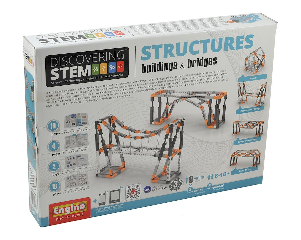 Engino STEM Buildings & Bridges by Elenco Electronics