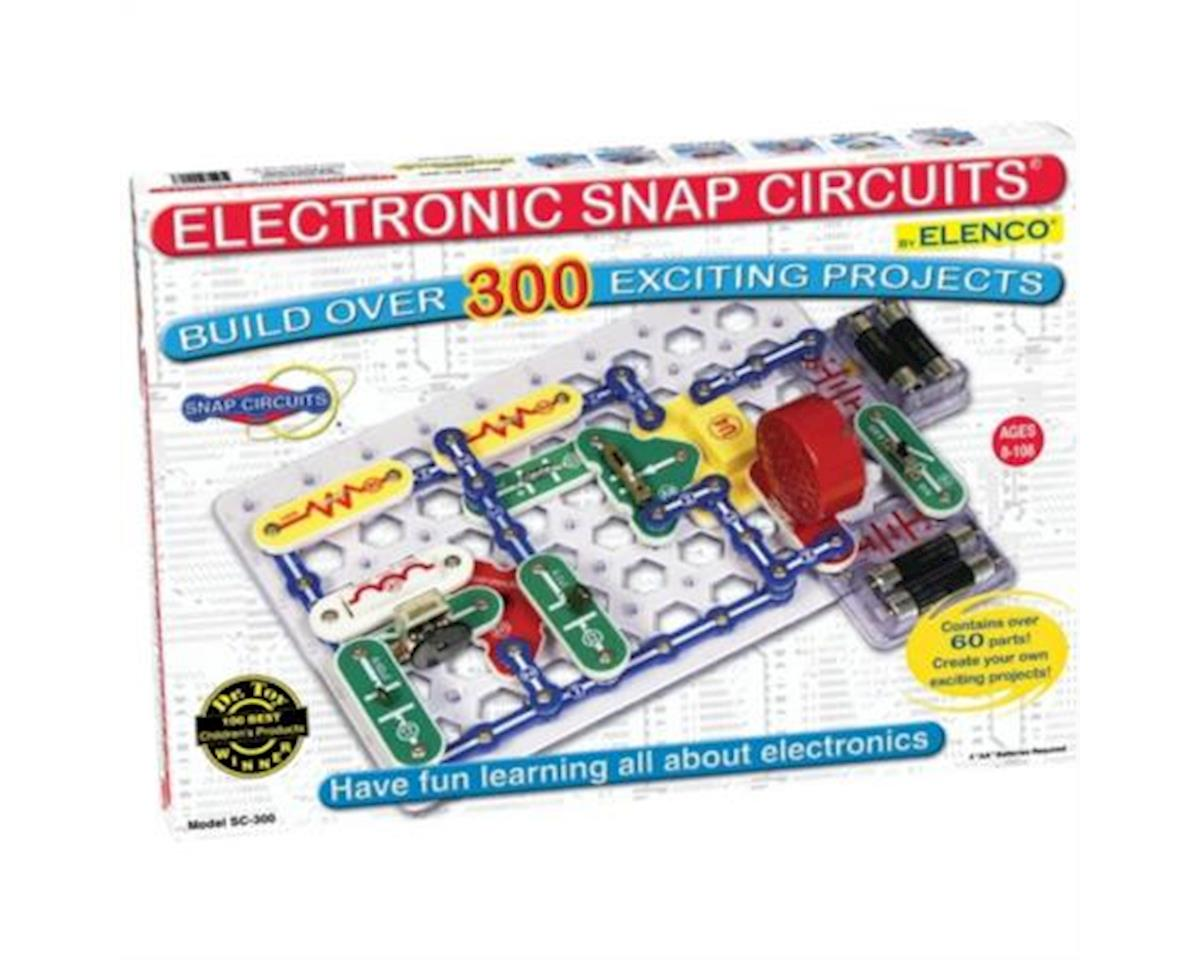 Elenco Electronics 300 1 Electronic Snap Circuits Elesc300 Toys Circuit Parts