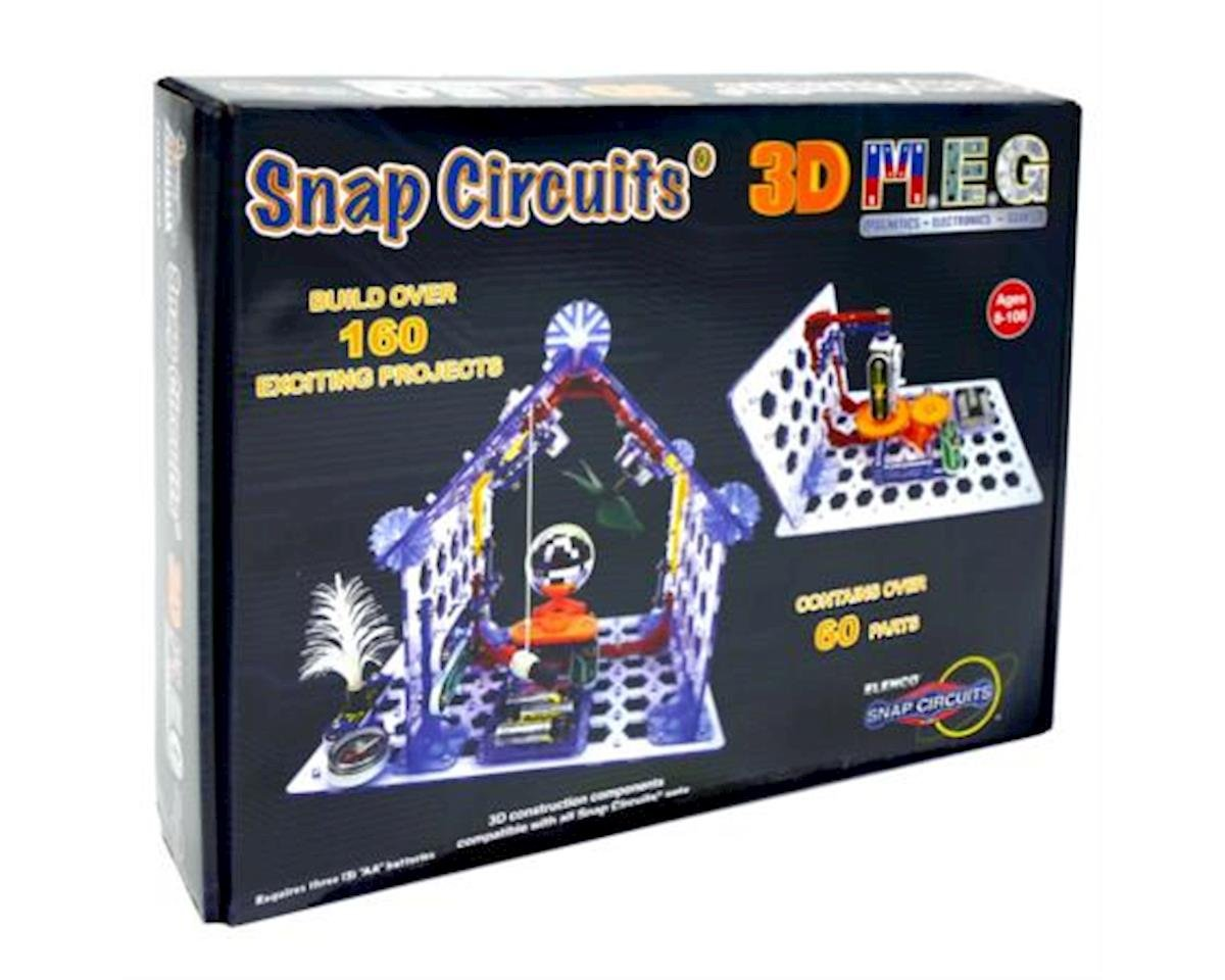 Snap Circuits 3D M.E.G. Electronics Discovery Kit