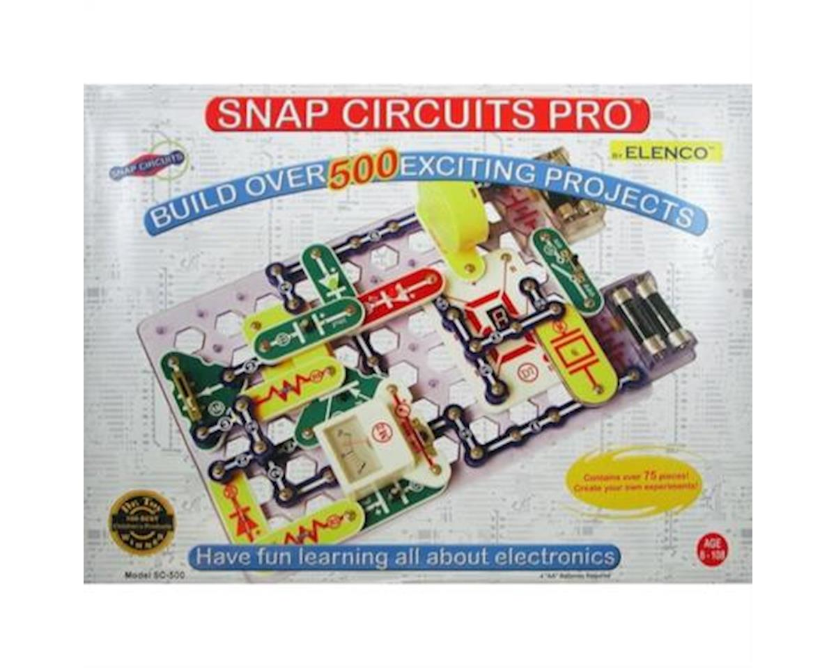 Elenco Electronics Snap Circuits Pro 500-1
