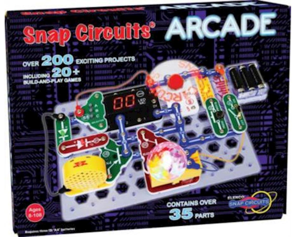 Elenco Electronics Snap Circuits Arcade