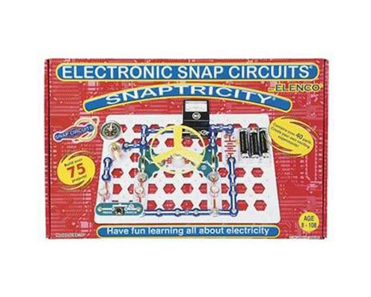 Elenco Electronics Snaptricity Elescbe75 Toys Hobbies Hobbytown Snap Circuitsr By Elencor Replacement Parts