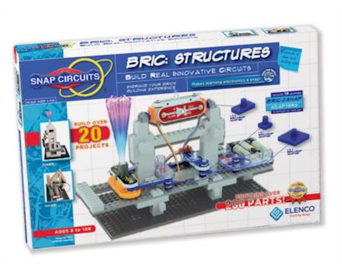 Elenco Electronics Snap Circuits Bric Structures