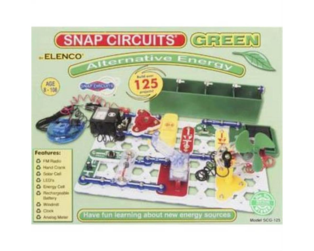 Snap Circuits Green Alternative Energy Kit by Elenco Electronics