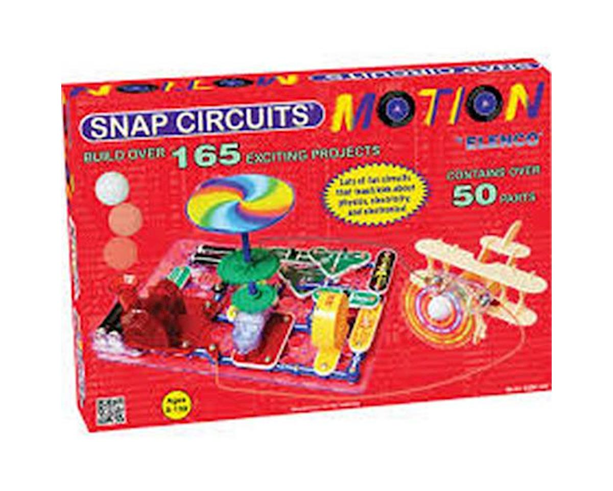 Elenco Electronics Snap Circuits SCM-165 Snap Circuits Motion Kit
