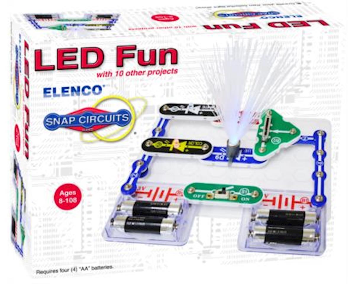 Elenco Electronics Scp 11 Snap Circuits Led Fun Elescp11 Circuitsr By Elencor Replacement Parts
