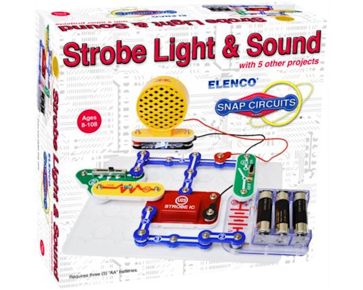 Elenco Electronics Snap Circuits Strobe Light&Sound