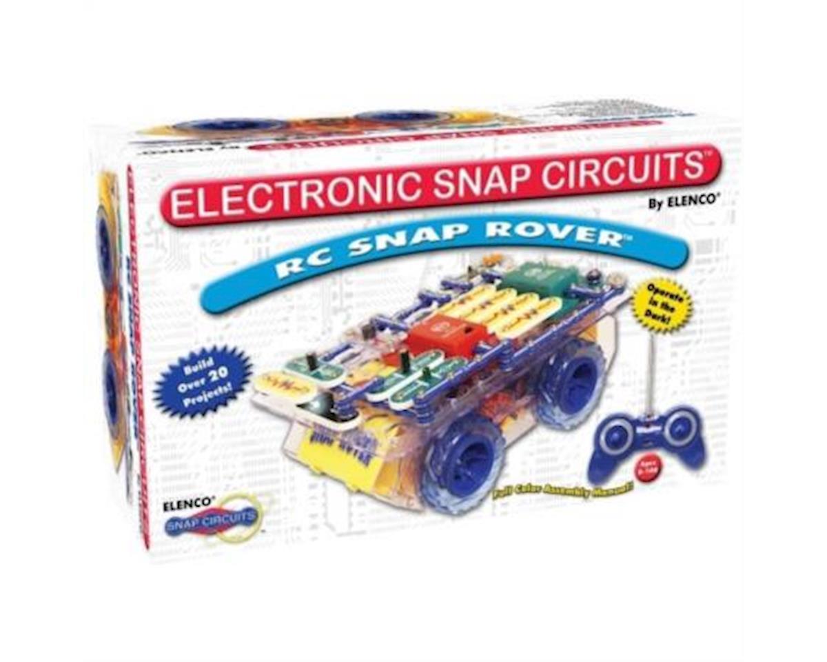 Elenco Electronics  Radio Control Rover Car Electronic Snap Circuit Kit