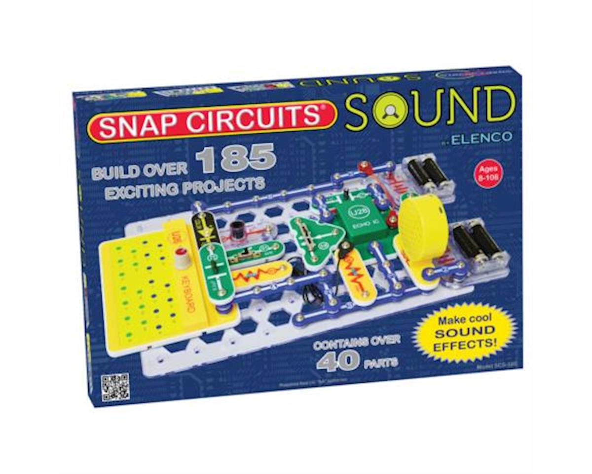 Elenco Electronics Elenco SCS185 Snap Circuits Sound