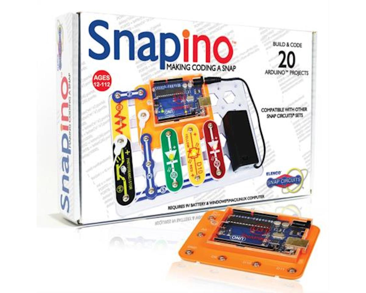Elenco Electronics Snapino Making Coding A Snap Circuits Circuitsr By Elencor Replacement Parts And Arduino Compatible