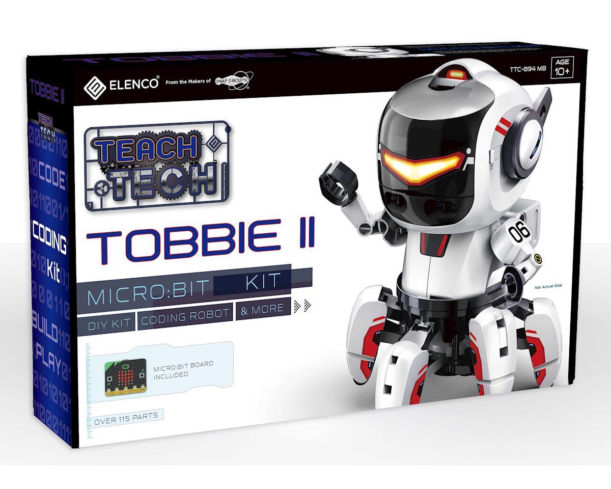Elenco Electronics Roll Over Image To Zoom In Elenco Teach Tech Tobbie Ii  Bbc Micro:Bit Robot Kit   Stem Education