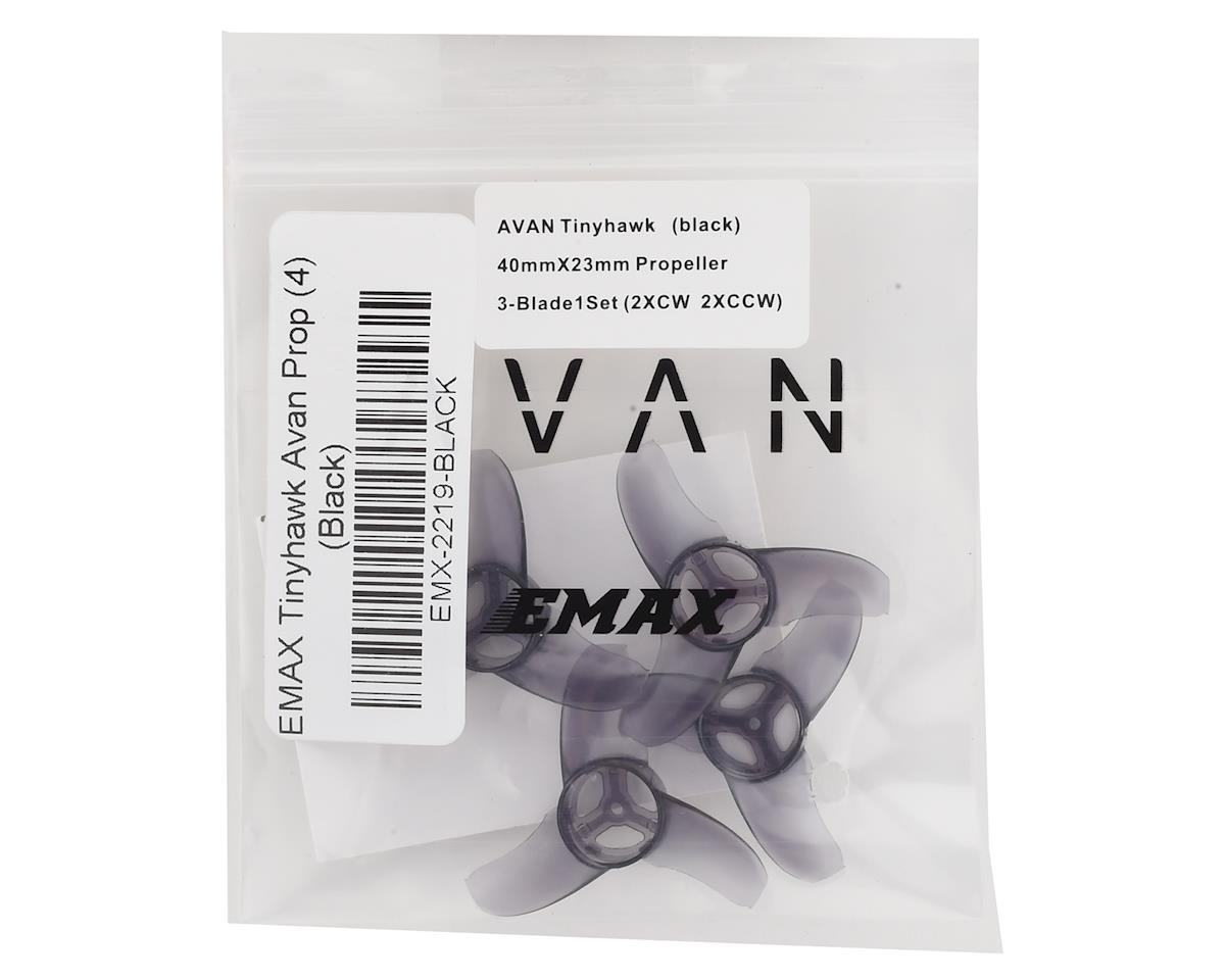 EMAX Tinyhawk Avan Prop (4) (Black)