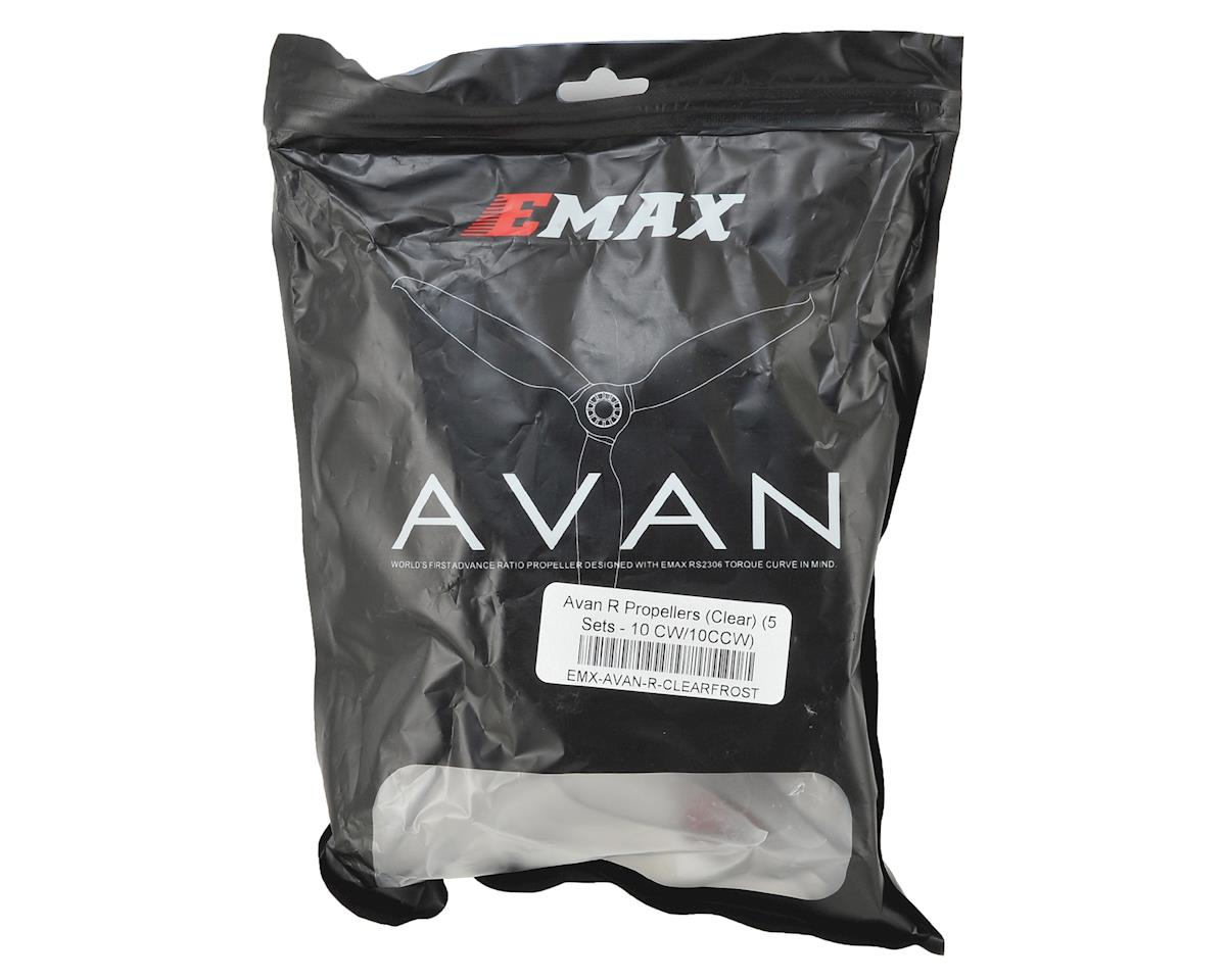 EMAX Avan R Propellers (Clear) (5 Sets - 10 CW/10CCW)