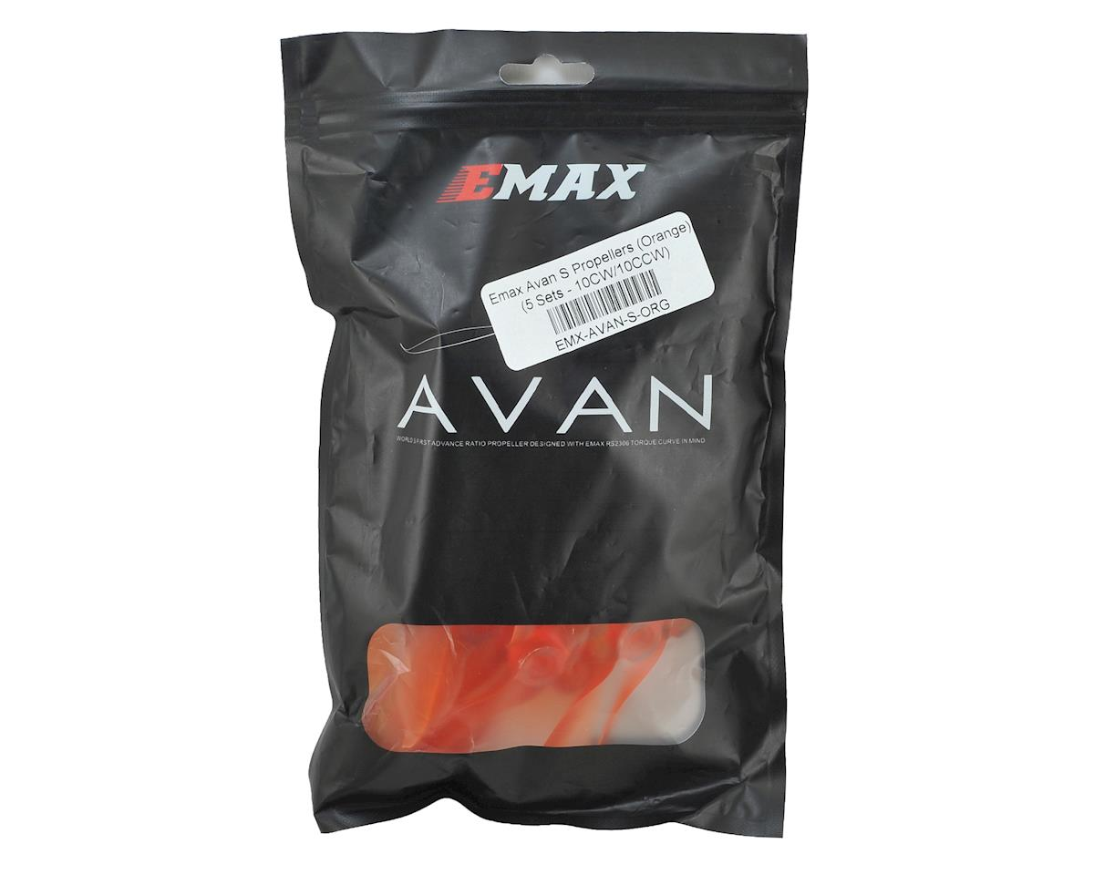 "EMAX Avan S 5"" 2-Blade Propellers (Orange) (10CW/10CCW)"