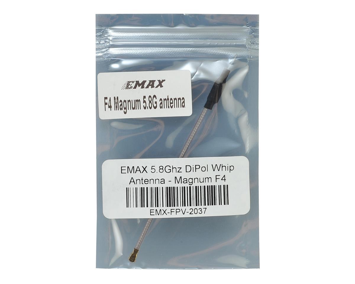 EMAX 5.8Ghz DiPol Whip Antenna - Magnum F4 (U.Fl)
