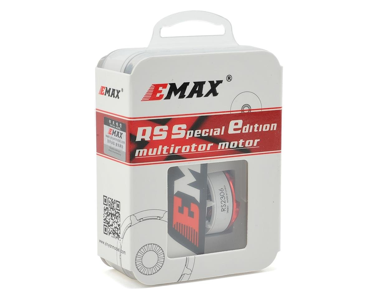 EMAX RS2306 2400kV Brushless Motor Limited Edition (CW Thread) (White)