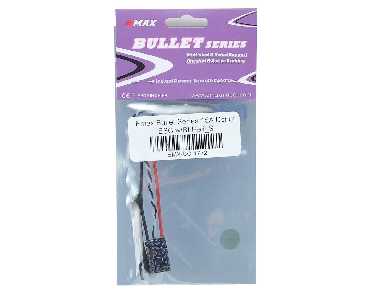 EMX-SC-1772 EMAX Bullet Series 15A Dshot ESC w//BLHeli/_S