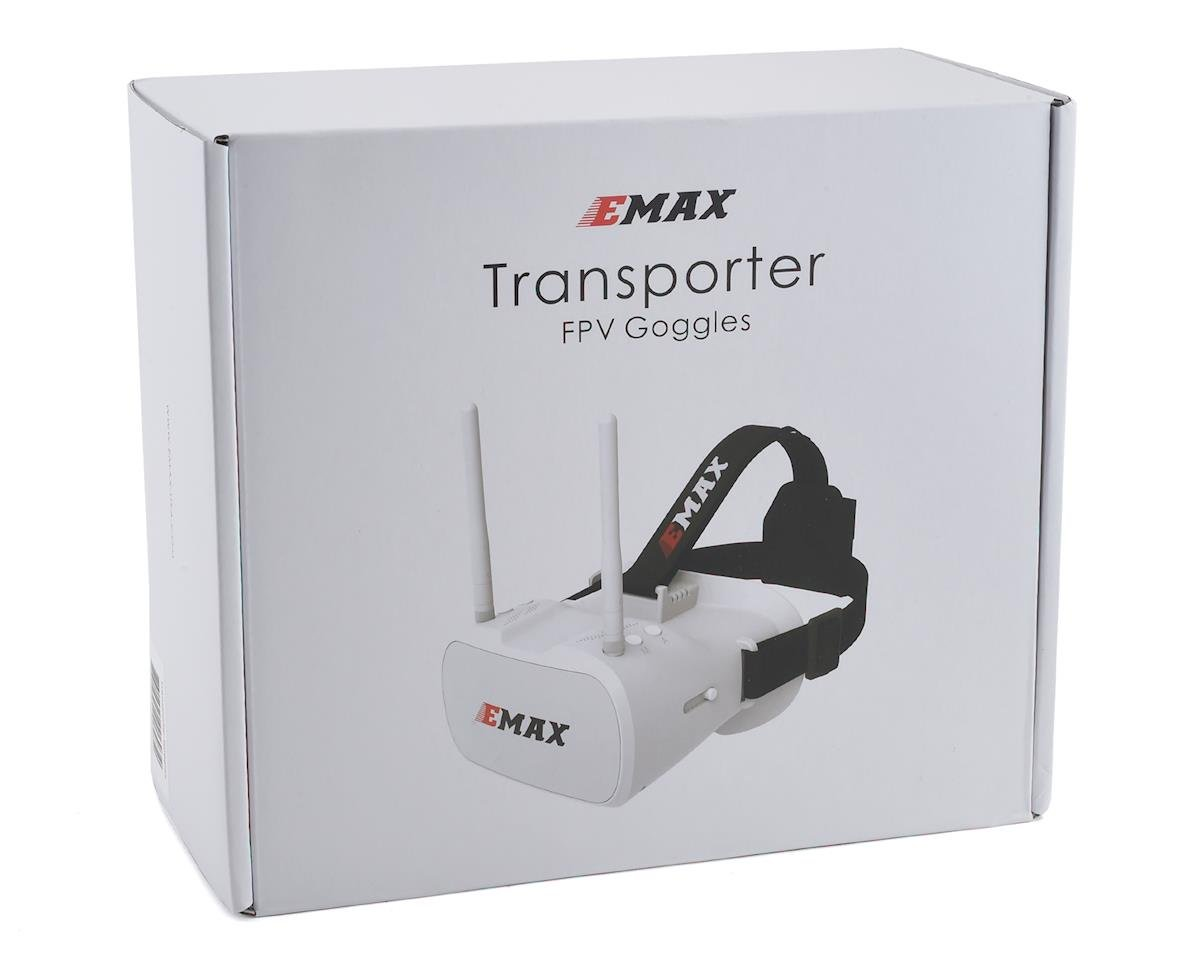 Image 3 for EMAX Transporter FPV 5.8GHZ Goggles