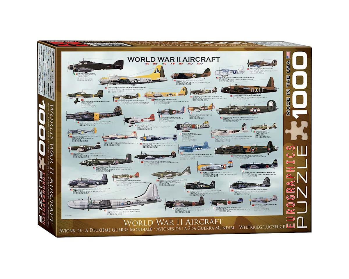Eurographics 6000-0075 WWII Aircraft 1000pcs