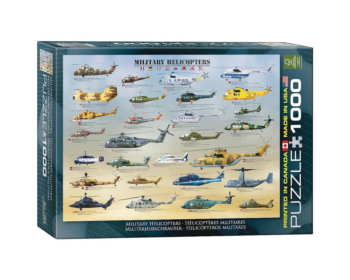 Eurographics 6000-0088 Military Helicopters 1000pcs