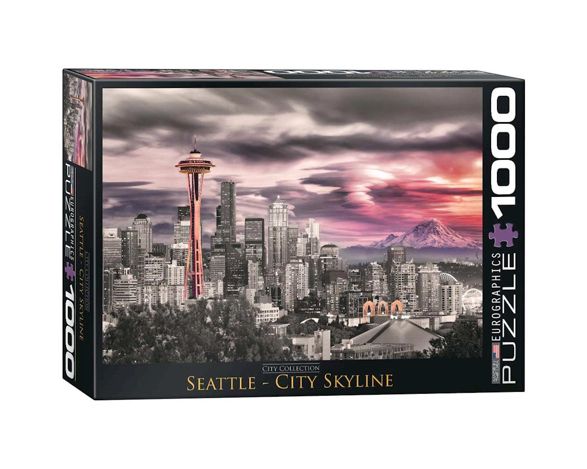 6000-0660 Seattle City Skyline 1000pcs
